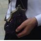 Embrayage perle élégante du cru des femmes