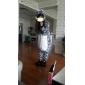 kigurumi Pyjamas Zébré Collant/Combinaison Fête / Célébration Pyjamas Animale Halloween Blanc Noir Mosaïque Flanelle Kigurumi Pour Unisexe