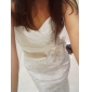 Trumpet/Mermaid Plus Sizes Wedding Dress - Ivory Sweep/Brush Train Sweetheart Satin/Tulle