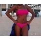 Women's Fuchsia Bandeau Strapless Acacia Bikini