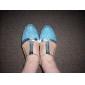 kvinnors läder övre latin dansskor sandaler med Cullen (fler färger)