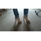 Chunky sandales à talons de plate-forme de simili-cuir avec boucle chaussures femmes (plus de couleurs)