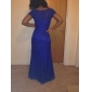 Homecoming Formal Evening/Military Ball Dress - Black Plus Sizes Trumpet/Mermaid Scoop Sweep/Brush Train Lace