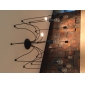 60 Ljuskronor ,  Vintage Målning Särdrag for Flush Mount Lights MetallVardagsrum Sovrum Dining Room Skaka pennan och tryck på spetsen