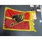 Mer accessoarer Inspirerad av Fairy Tail Cosplay Animé Cosplay Accessoarer Flagga Röd Terylene Man / Kvinna
