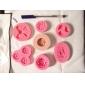 Moule de Cuisson friut Pour Gâteau Pour Cookie Pour Tarte Silikon Ecologique Haute qualité Bricolage 3D