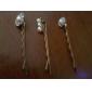 Vintage simple clip perle Diamonade 3 Pcs Set cheveux de poupée LOCKY femmes