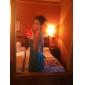 Женское длинное шифоновое платье, V-образным вырезом