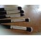 Nouveau MakeUp Pro Set cosmétique Fondation Pinceau fard à paupières blush bois Outils 4 PC SV000966