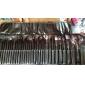 32pcs ensembles de brosses Pinceau en Poils de Poney Autres Pinceau en Nylon Poil Synthétique Cheval Limite les Bactéries Visage Lèvre Œil