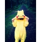 Kigurumi Pyjamas nya Cosplay® / pika pika Leotard/Onesie Halloween Animal Sovplagg Gul Lappverk Korallfleece Kigurumi UnisexHalloween /