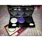3 Palette de Fard à Paupières Lueur Fard à paupières palette Poudre Normal Maquillage Quotidien