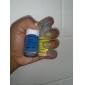 1PCS ABS Nail Art Color Mixing palette pourpre