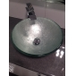 Waterfall Bathroom Sink Faucet Contemporary Design Brass Finish (Tall)