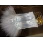 Underbar färg Satin Princess Lolita korsett med spets