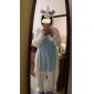 kigurumi Pyjamas Unicorn Collant/Combinaison Chaussons Fête / Célébration Pyjamas Animale Halloween Bleu Mosaïque Toison de Corral