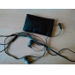 es-900i-awei casque 3,5 mm dans l'oreille canal Super Bass avec microphone et télécommande pour téléphone mobile / pc / mp3