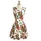 MFL Print Vest rochie de moda