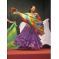 Dancewear Chiffon con Ruffles Three layers Performance Belly Skirt for Ladies More Colors