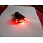 Eclairage de Vélo / bicyclette Lampe Arrière de Vélo LED Laser Cyclisme Etanche Résistant aux impacts Pile au Lithium Lumens Batterie