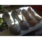 Chaussures Femme - Mariage / Bureau & Travail / Décontracté / Soirée & Evénement / Habillé - Argent / Bleu / Rose - Talon Aiguille -Bout