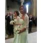 FENJA - Kleid für Brautjungfer aus Chiffon und Elastisch gewebte Seide