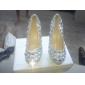 Rhinestonee Wedding Platform Stiletto Heels Pumps Women's Shoes