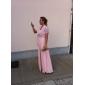 Женское вечернее шифоновое платье (больше цветов)