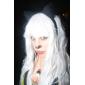 Perruques de Cosplay Angel Sanctuary Rosiel Blanc Long Anime Perruques de Cosplay 80 CM Fibre résistante à la chaleur Masculin
