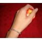 livfulla kvinnors orm ben försilvrad armband