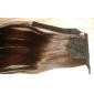 22 pouces 1 pièce marron queues de cheval extensions de cheveux