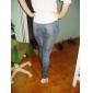 Feminin Denim Legging,Spandex Nailon Mediu