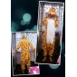 Kigurumi Pyjamas Giraff Leotard/Onesie Halloween Animal Sovplagg Orange Lappverk Korallfleece Kigurumi UnisexHalloween / Jul / Karnival /
