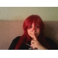 Grell Sutcliffe parrucca cosplay