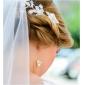 Fabulos Artizanală piepteni cu stras pentru nunta / headpieces pentru ocazii speciale