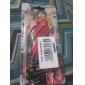 Bijoux Inspiré par One Piece Trafalgar Law Anime Accessoires de Cosplay Colliers Rouge / Jaune / Doré / Argenté Alliage Masculin