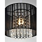 40W Hängande lampor ,  Modern Krom Särdrag for Kristall / Flush Mount Lights Metall Bedroom / Dining Room