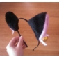 Oreilles de chat noir de Halloween Bandeau avec Bell Ring (1 pièce)
