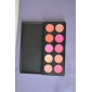 10 Colors Blush Blusher Powder Makeup Cosmetic Palette High Quality Showy Color