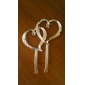 Cake Toppers Classic Double Resin Hearts  Cake Topper