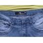 Bărbați Zvelt Simplu Talie Medie Pantaloni Scurți Pantaloni Peteci Mată
