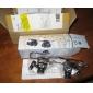 Glasögon Typ 20X mikroskop / Förstoringsglas med vitt LED-ljus