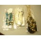 mts nationell smak färgrik metall halsband