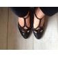 anpassade kvinnors konstläder och gnistor glitter modern praxis ballroom skor