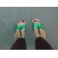 Customized Satin T-Strap Strap Latin / Ballroom Dance Shoes With Buckle (More Colors)