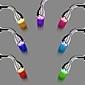 Contemporain Douche pluie Chrome Fonctionnalité for  LED Effet pluie , Pomme de douche