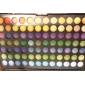 168 색상 전문 눈부신 광택이없는 & 희미한 3IN1의 아이섀도 메이크업 화장품 팔레트