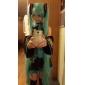 vocaloid Hatsune Miku dois rabos de cavalo peruca cosplay