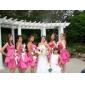 UNICE - kjole til bryllupsfest eller brudepige i satin