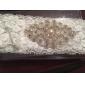 dantelă clasic / satin răzătoare de nunta cu perla